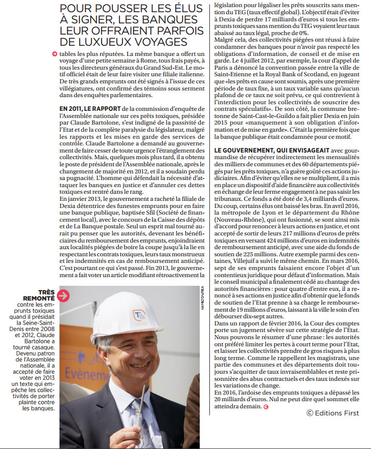 Capital 27 octobre 2016 : SCANDALES SANITAIRES, CORRUPTION... CES RAPPORTS QUE NOS GOUVERNANTS ÉTOUFFENT
