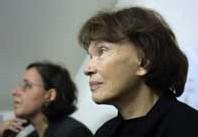Danielle Mitterrand, la femme du jour