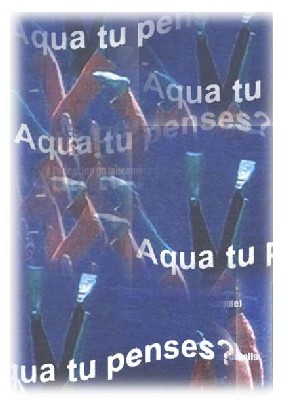 issue de l'affiche aqua tu penses?