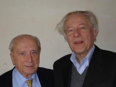 A. KISS Président du Conseil européen du droit de l'environnement et M. H. SMETS membre de l'Académie de l'Eau