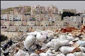 L'élimination des déchets :<font color='red'> Une nouvelle arme de guerre pour Israel ? Un désastre pour la qualité des sources et nappes locales assurément !</font>