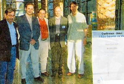 ACME 73 : «Eau Source de Vie», le point de vue de la presse sur cette conférence, qui a eu lieu à Chambéry le jeudi 2 juin