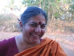 Vandana Shiva Photo © DR Andree-Marie Dussault