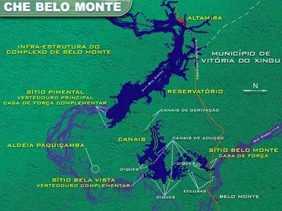 Barrage géant sur le Xingu: feu vert imminent et protestations en cours