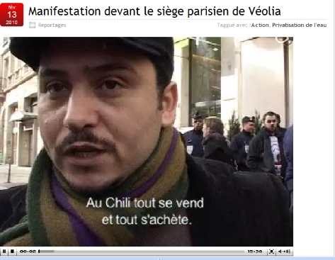 CLIQUEZ SUR LA PHOTO OU SUR LA LEGENDE POUR VISUALISER LA VIDEO DE LA MANIFESTATION FILME PAR REGARD A VUE