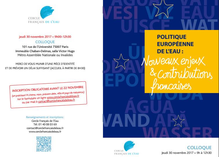 Le Cercle Français de l'Eau véritable agence de lobbying des multinationales de l'eau ?