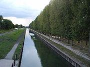 Canal de l'Ourcq à Aulnay-sous-Bois