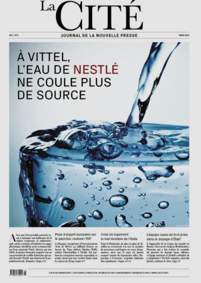 Mediapart : A Vittel, l'eau de Nestlé ne coule plus de source