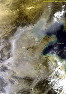 La pollution en CHINE au POINT CRITIQUE