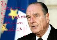 Président Jacques Chirac