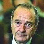 le Président français J. CHIRAC