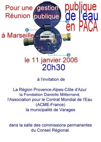 Danielle Mitterrand et 'la voix du peuple'<font color='red' SIZE=4><b> ou 'la voie de l'EAU LIBRE'</FONT>