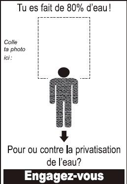 Calendrier des principales interventions de l'ACME France sur l'eau