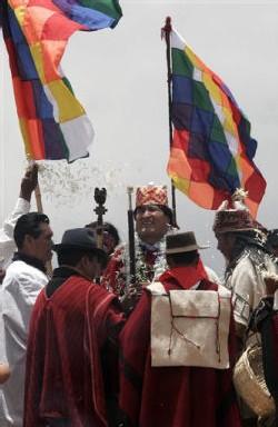 Morales sacré par son peuple