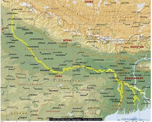 En Inde: <font color='red' size=4>Les activistes de l'eau lancent la campagne Anti Privatisation</font>- le Gange= un dépotoir ?