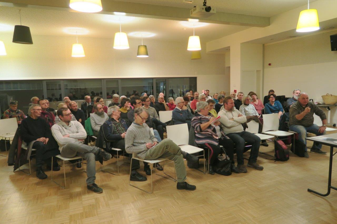 Café citoyen sur l'impact de la loi NOTRe sur la gestion de l'eau, du 16 janvier 2019 à Saint-Dié-des-Vosges