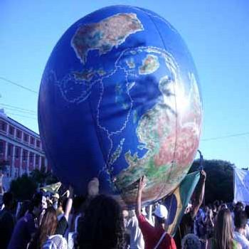 A Brest : Appel des Verts pour le retour en régie de la gestion de l'eau  (3 mars 2006)