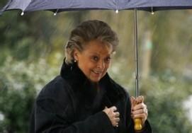 La ministre française, Nelly Olin