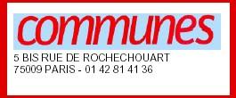 REMUNICIPALISATION de l'Eau: <font color='red'> : le mouvement de déprivatisation s'amplifie pour le journal ' Communes '</font>