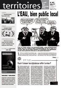 L'eau, bien public local : Journal de Territoires (ADELS)