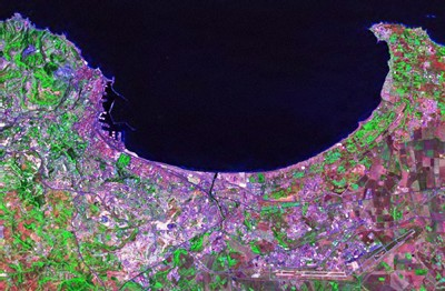 Alger par satellite