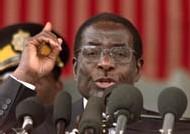 Robert MUGABE en 2002