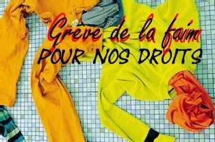 MANIFESTATION : <font color='red' size=4>Au 31° jour de grève de la faim des salariés d'Esterra à Lille et à la veille de la manifestation du 3 juin à Lille : la solidarité s'élargit !</font>