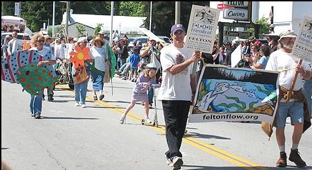 Manifestation à Felton : Local Water, Local Control !