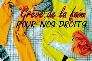 IL Y A URGENCE : « Au <font color='red'size=7 >32° jour</font> de grève de la faim des salariés d'Esterra à Lille : <font color='red' size=6> 2 autres délégués syndicaux en cours de licenciement !</font color>