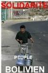 Bolivie : solidarité =Dotation en citernes d'eau potable des quartiers pauvres de Cochabamba
