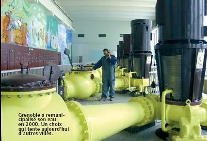 France : Le prix du mètre cube en eau trouble