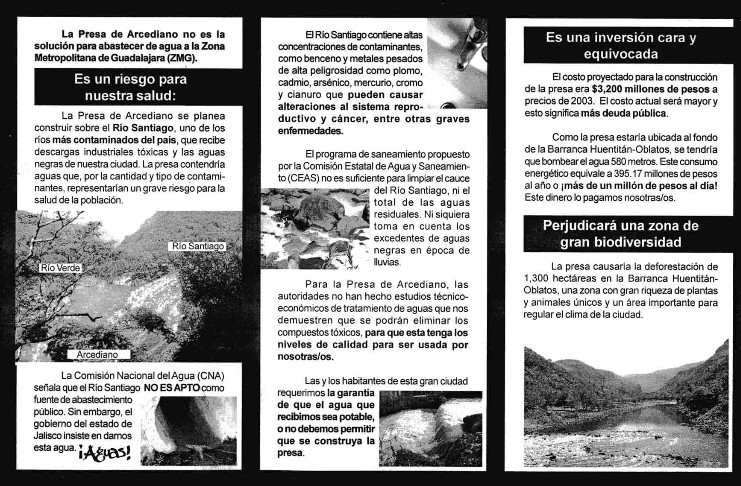 Campagne pour suspendre la construction du barrage Arcediano