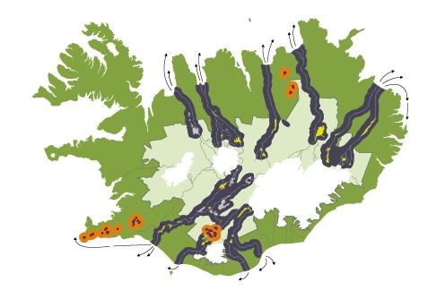 Island en 2020 le glacier serait totalement exploité pour produire de l'électricité