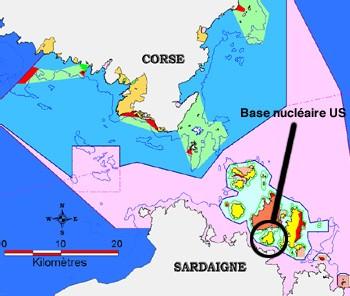 Exclusif 'La US-Navy a déversé de l'eau radioactive dans le Parc marin international des Bouches de Bonifacio'.