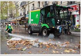 COVID-19 ET NETTOYAGE DES RUES : LES MENSONGES DE LA MAIRIE DE PARIS PAR MARC LAIMÉ, 20 AVRIL 2020