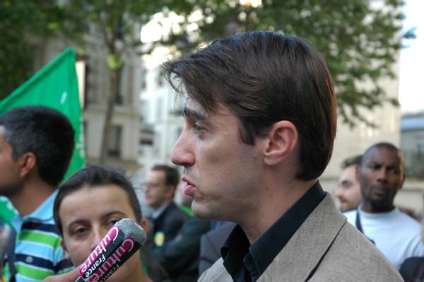 secrétaire national des Verts, Yann Wehrling