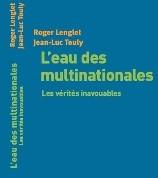 GRENOBLE le 04 OCTOBRE «L'eau et les multinationales » avec Jean Luc Touly (Association ACME)