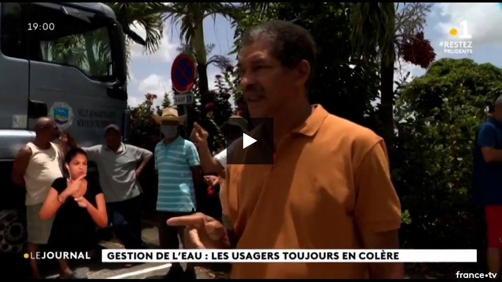 17 mai 2020 : France-Antilles (plainte pénale) et Martinique 1ère JT 19h 17 mai 2020
