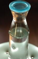 carafe d'eau de l'ex-SAGEP EAU DE PARIS