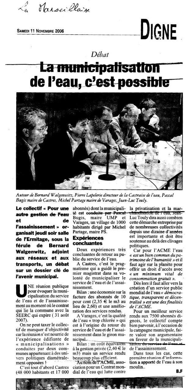 Digne-les-Bains : Une gestion municipale espérée