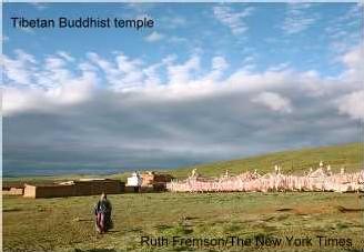 Un temple boudhiste