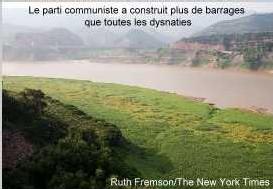 le fleuve Jaune entravé par les barrages