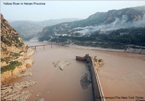 le fleuve Jaune à Henan