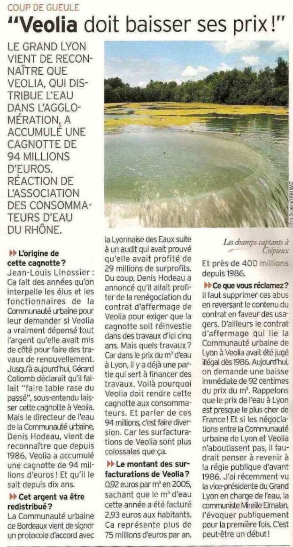 RENDEZ-NOUS LA CAGNOTTE du GRAND LYON