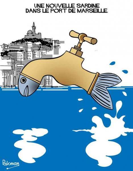 Marseille: le contrat du siècle à l'eau : Le gros lot de 3 milliards d'euros attend son gagnant...