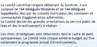 Le SEDIF adopte à l'unanimité un budget 2007 de 423,5 millions d'euros
