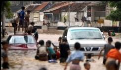 A Jakarta les inondations font 200.000 sinistrés
