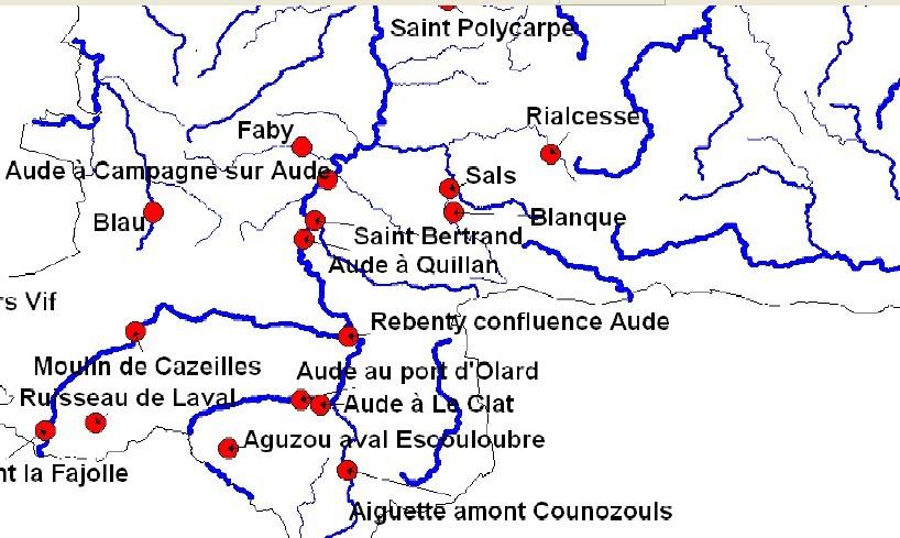 Un barrage sur le Saint-Bertrand, à 200mètres de son confluent avec le fleuve Aude?