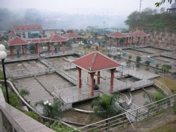 Chongqing usine de Traitement des Eaux usées (crédit Photo Max Luken)