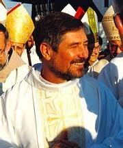 Le religieux franciscain, Frei Luis Cappio qui a fait une grève de la faim l'année dernière pour stopper le projet